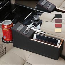 Seggiolino auto lato tasca Catcher Box Gap deposito organizzatore Cup w / 4-USB