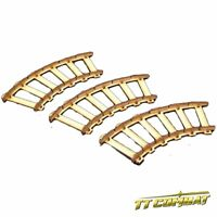 TTCombat (OTS036) Curved Rails, great for Malifaux
