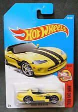 2017 Hot Wheels Car 281/365 Dodge Viper Rt/10 - International M/N Case