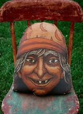 Halloween witch head party prop pillow party decoration vintage old antique
