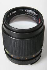 PS zivnon 135mm f/2.8 Telephoto lente. Nikon AI SUPPORTO - FOCUS MANUALE