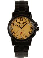 Minoir Uhren Modell Corbie schwarz / gelb Automatikuhr Herrenuhr