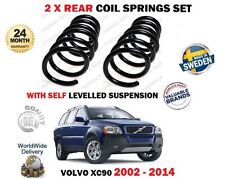 FOR VOLVO XC90 SELF LEVEL SUSPENSION TYPE 2002-2014 NEW 2X REAR COIL SPRINGS SET