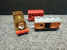 Chocolate Covered Percy Tomy - Thomas Tank Engine Trackmaster Train Carriages