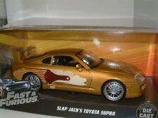 Toyota supra 1995 oro metalizado Slap Jack Fast /& Furious maqueta de coche 1:24 jada