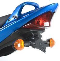 R&G Tail Tidy / Licence Plate Holder Suzuki GSX 650F 2008 LP0112BK Black