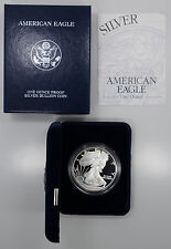 2003 W West Point Proof  American Silver Eagle 1 oz 999 Box/COA - B7