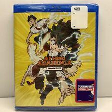 My Hero Academia Season Three (Blu-Ray + Funimation Digital) New SHIPS NEXT DAY!