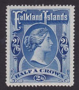 Falkland Islands. 1898. SG 41, 2/6 deep blue. Mounted mint.