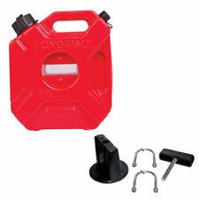 NEW 3L ATV FUEL JUG GAS CAN WITH MOUNTING BRACKET KOLPIN ROTOPAX POLARIS CAN AM