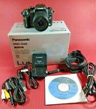 Panasonic Lumix DMC-G2 w/ 14-42mm Lumix G VARIO f/3.5-5.6 Lens (Black)