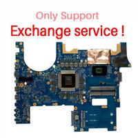 Exchange !!For ASUS G752VM G752VML G752VS Motherboard i7-6700HQ CPU GTX 1070 8GB