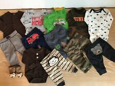 Carter's and OshKosh Infant Boy's Clothing Lot of 13 Size 3 Months
