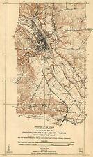 MAP USA CIVIL WAR FREDERICKSBURG BATTLEFIELDS LARGE REPLICA POSTER PRINT PAM1254