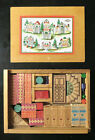 Vintage Quaint Wooden Building Set from Germany in Box