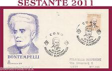 ITALIA FDC CAPITOLIUM 379 MASSIMO BONTEMPELLI 1979  ANNULLO SPECIALE COMO  G824