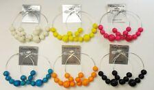 Wholesale Jewelry lots 6 pairs Big Colorful Fashion Hoop Earrings #730-11