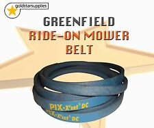 GREENFIELD ride on mower cutter BELT To suit Selected Models. OEM Pt No: GT18005