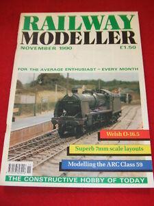 RAILWAY MODELLER - ARC CLASS 59 - Nov 1990 Vol 41 #480