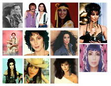 CHER PHOTO-FRIDGE MAGNETS  (Set 2 of 3), 11 IMAGES