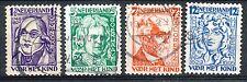 Nederland  220 - 223 gebruikt (5)