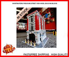 Sale! Fast Shipping! 4705Pcs Ghostbusters Firehouse Street View Building Blocks
