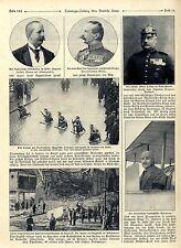 Larga distancia-rekordflug del franceses Tabuteau * más veterano soldado activo c.1911