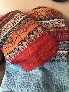 King Size Bedspread Plus Pillow Shams