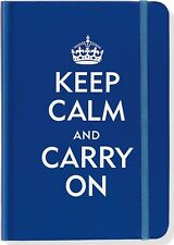 Keep Calm and Carry On Blue Journal (Diary, Notebook)