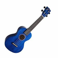 MAHALO - Hano Series Concert Ukulele with Aquila Strings Trans Blue