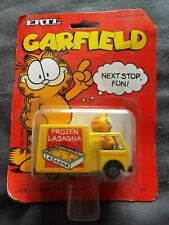 1990 Vintage Ertl Diecast Garfield frozen lasagna van New & Sealed