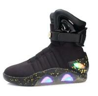 LED LIGHT SHOES KEY CHAINBACK TO THE FUTURE WARRIOR Sneaker BASKETBALL Casual