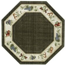 Country Kitchen Octagon Area Rugs For Ebay