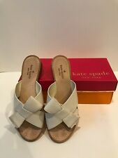 Kate Spade New York Becky Ivory Leather - size 8