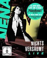 NENA - NICHTS VERSÄUMT LIVE 2 CD+BLU-RAY  NEW+