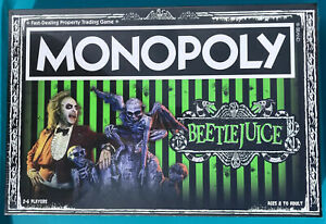 Beetlejuice Monopoly New Factory Sealed Usaopoly