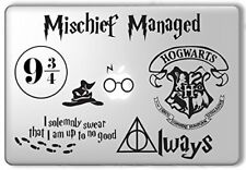 HARRY POTTER DECAL SET VINYL DECAL STICKER FOR MACBOOK LAPTOP