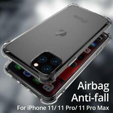 Para iPhone 11 Pro Max 8 7 XS Max XR XS caso claro protector a prueba de choques parachoques