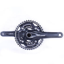 Shimano Deore FC-M610-L MTB Crankset 10-speed 42-32-24 Black 170mm