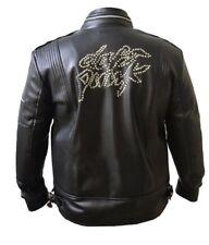 Daft Punk Leather Jacket Electroma Hero Robot Rivet - Free Shipping
