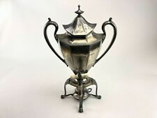 Coffee Urn In Antique Us Silver Plated