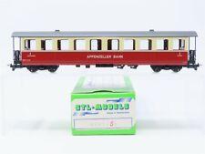 HOm Gauge STL Models 2201/S1 AB Appenzeller Bahn 2nd Class Coach Passenger