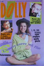 DOLLY 543 1989 Boy George Anna Oxa Leali Rick Astley Gravina Concato Charlie
