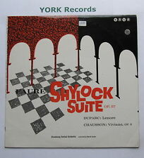 XID 5104 - FAURE - Shylock Suite LEVINE Strasbourg Festival Orch - Ex LP Record