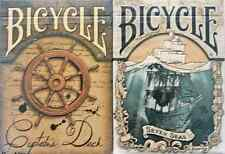 Bicycle Seven Seas & Captain's Deck Playing Cards - Limited Edition - SEALED