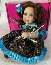 "Marie Osmond Tiny Tots MATERIAL GIRL Doll ~ 5.5"" TAFFETA ~ Mint in Box"