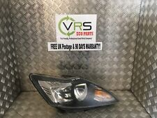 04 11 FORD FOCUS MK2 DRIVER SIDE FRONT HEADLIGHT HALOGEN