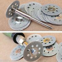 1Set Cutoff Wheel Saw Blades Mandrel Cutting Disc Rotary 5x22mm
