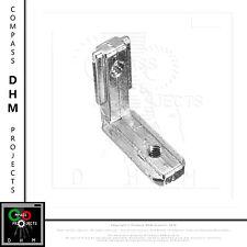 Support borgne 90° pour profile extrude en aluminium série 5 2020