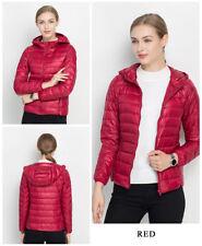 NEW Womens Duck Goose Down Ultralight Winter Jacket Warm Puffer Coat Packable
